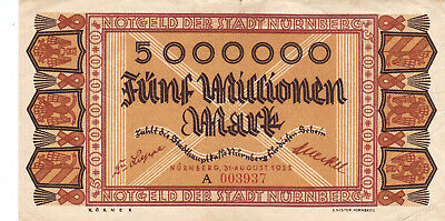 Currency Selection, Germany State 50 Million Marks