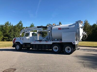 International Vactor Vaccon Sewer Jetter PD Blower Vacuum Truck Hydro Excavator