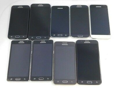 9 Lot Smart Phones- Various Models- Various Carriers - For Parts - Read Auction