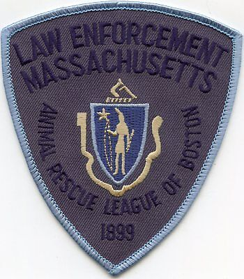 Boston Massachusetts Ma Animal Rescue League K-9 Police Patch