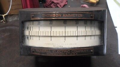 Large Antique Thompson- General Electric   Electrical Instrument Meter #2