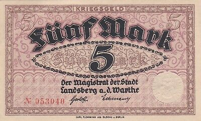 Currency Selection, Germany State 5 Marks