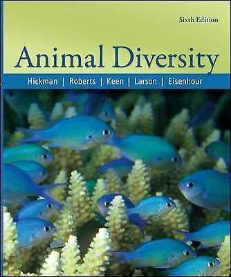 Animal Diversity by David Eisenhour, Larry Roberts, Susan Keen, Cleveland, Jr. H