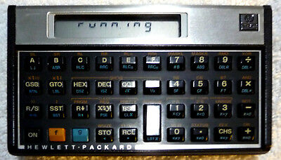 HP 16C Computer Scientific Calculator With PAPERS, HISTORY