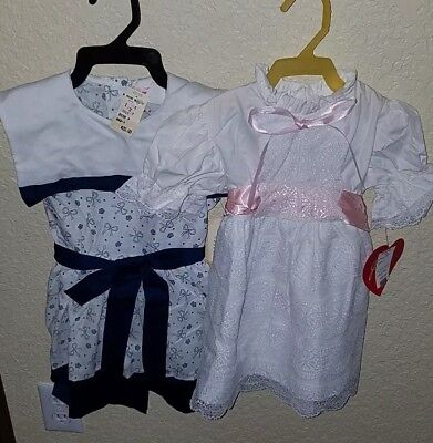 Vintage Lot Of 2 Dresses~Size 4~New With Tags