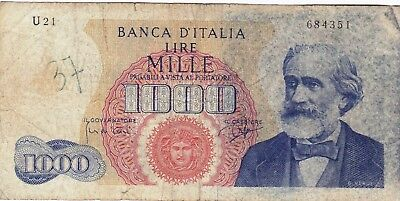Currency Selection, Italy 1000 Lire
