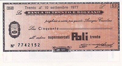 Currency Selection, Italy 50 Lire
