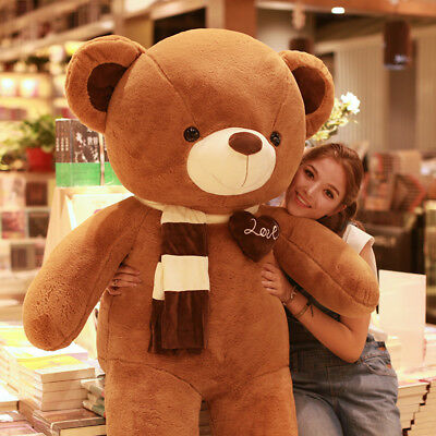 Giant Teddy Bear Soft Plush Stuffed Animal Toys Gift Christmas Birthday 31.5inch