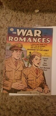True War Romances #2 (1952) fn -OW off mothers predagree collection
