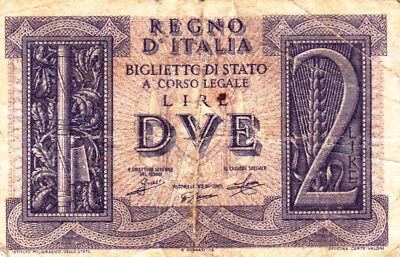 Currency Selection, Italy State 2 Lire