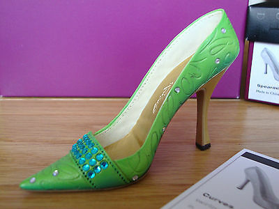 Just The Right Shoe - Spearmint   #25521  nib