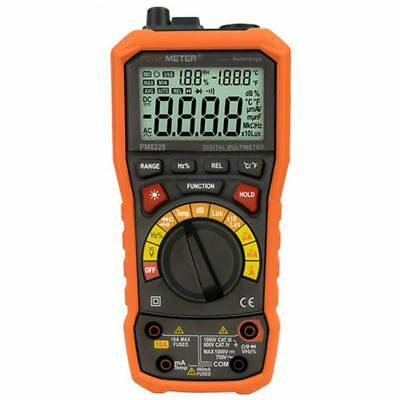 PEAKMETER PM8229 5 in 1 Auto Digital Multimeter With Multi-function Lux Sound SS