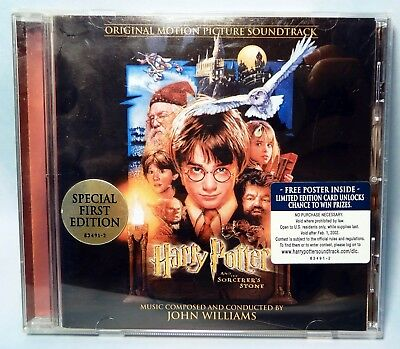 Harry Potter and the Sorcerer's Stone Original Soundtrack John Williams CD