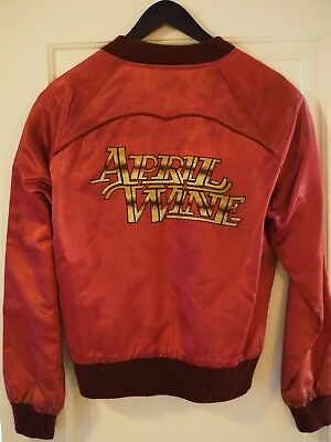 APRIL WINE 1979 - Satin Embroidered Tour Jacket - Capitol Records - Size M - VTG