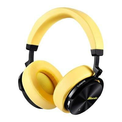 Active Noise Cancelling Wireless Bluetooth Headphones Portable Stereo Headsets..