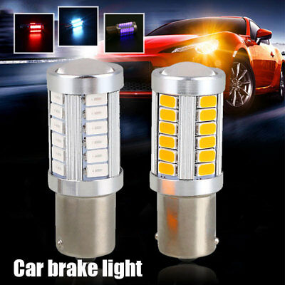 48CB 2BC7 Daytime Running Light Reverse Lamp Bright 33 SMD BA15S 1156 Auto Car