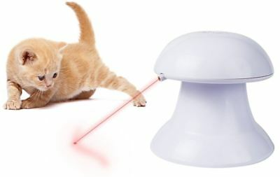 Interactive Automatic Cat Laser Pointer Light Pet Teaser Toy - Training Exercise
