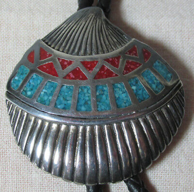 BL02 Bolotie indian sign shell, Muschel