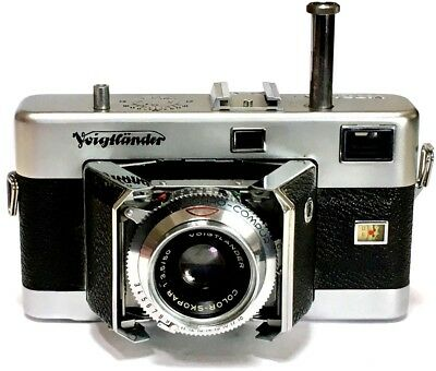 Rare Voigtländer Vitessa 35mm Folding Camera, 50mm Lens, German, Extraordinary