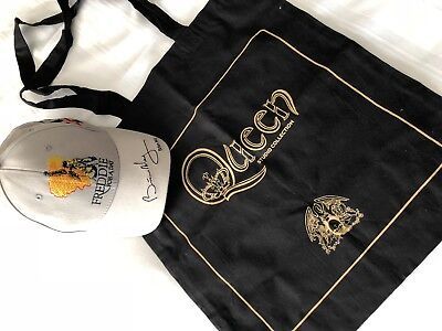 Queen  Tote Bag The Queen Experience Studio In Montreux Plus Cap Brian May