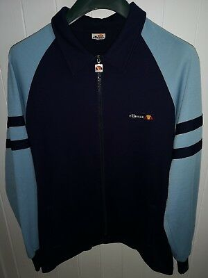Ellesse Track Top Size Xl OG Vintage Made In Italy, 80s casuals