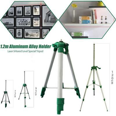 """Portable 1.2m Aluminum Alloy Tripod For 5/8""""Interface Laser Infrared Level Meter"""