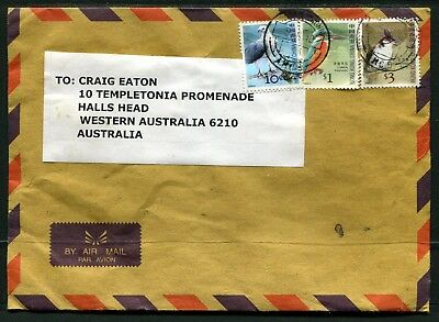 Hong Kong Airmail cover to Australia dated 5AUG10