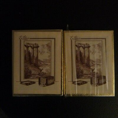 Book Plates Vintage Antioch 2 Boxes 50 Each 1 Unopened