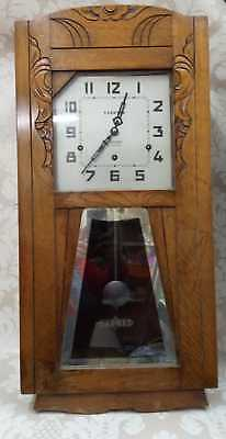 Vintage French Vedette  Art Deco Clock. Collect DT3