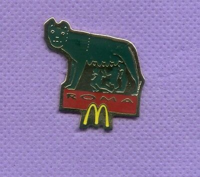 Pins  Mc Donald's  Roma Italien Wolf       Ph826