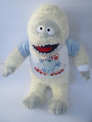 """BUILD A BEAR~BUMBLE the ABOMINABLE SNOWMAN with """"SNOW GOOD"""" OUTFIT from RUDOLPH"""