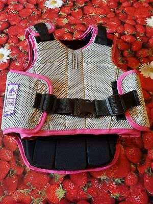 Children Girls, Harry Hall horse riding body protector Size C-M. Good Condition