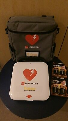 NEW Physio-Control Lifepak CR2 Trainer Unit AED - Defibrillator Training Device