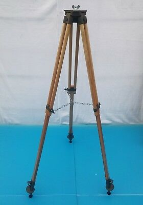 Old Military Tripod for Reflectors Floor Lamps. Industrial Vintage Loft Design