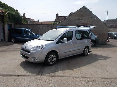 Wheelchair Accessible Disabled Wav Car 2012 62 Peugeot Partner Teepee S Hdi Wav
