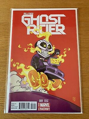 All New Ghost Rider  #1   Skottie Young Variant  Cover    1st Printing