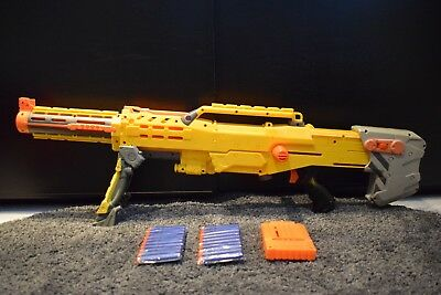 Nerf N-Strike Elite Longshot CS-6 Sniper Rifle + Barrel, Magazine, 20 NEW Darts