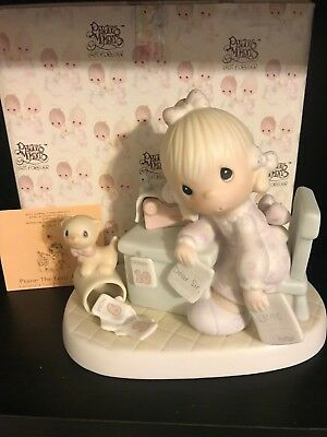 Precious Moments Praise The Lord Anyhow Figurine MIB