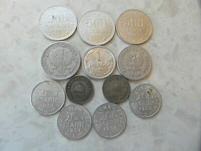 JOB lot COLLECTION of  various Collectable World War 1, 2 old coins #1