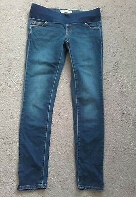 **TOPSHOP Under bump Skinny Maternity Jeans, Size 8, L32**