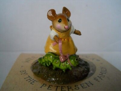 wee forest folk mouse  mint