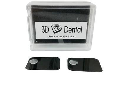 Dental Phosphor Imaging Plates for Soredex Size #2 Pack of 4