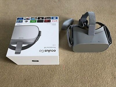 Oculus Go 32GB VR Headset with box, all accessories, excellent condition