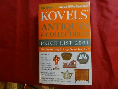 Kovels' Antiques and Collectibles Price List 2001 by Ralph M. Kovel and Terry PB