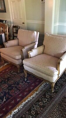 Drexel French Provincial Chairs pink