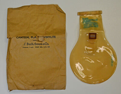 WW2 USAAF US Army Air Force C-1 Survival Vest Water Bladder Canteen