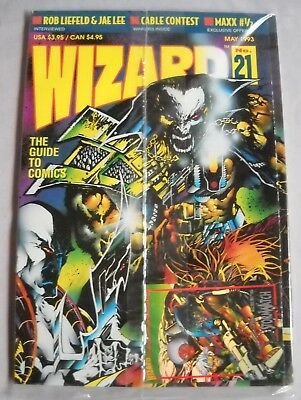 Wizard: The Guide to Comics May 1993 -Number 21 -With Youngblood Poster LIKE NEW