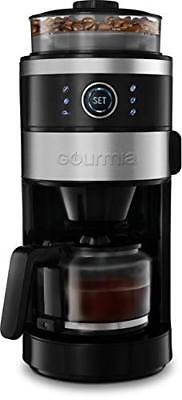 b533a6d0e7f5 Gourmia GCM4850 Grind   Brew Coffee Maker with Built-In Adjustable Grinder  6-Cup