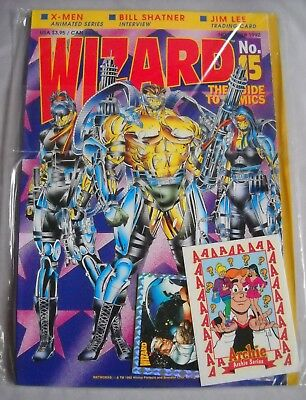 Wizard The Guide To Comics #15 November 1992 Unopened