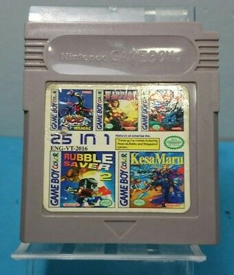 Juego Nintendo Game Boy Gb Esp - 25 In 1